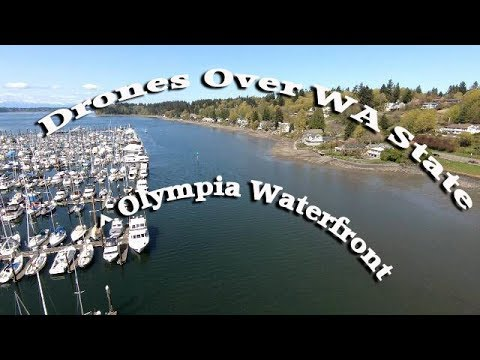 Drones Over WA State (Olympia Waterfront)