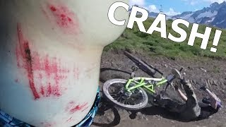 ENORME CRASH EN BACKFLIP [VTT ENDURO]