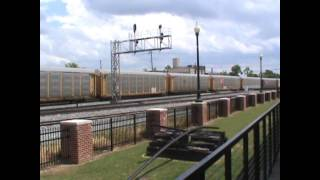 Railfanning Dalton, Georgia (June 1, 2013)
