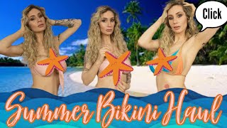 Super Sexy Summer Bikini Haul! Is that a boob cut out?!! Salty Rocks