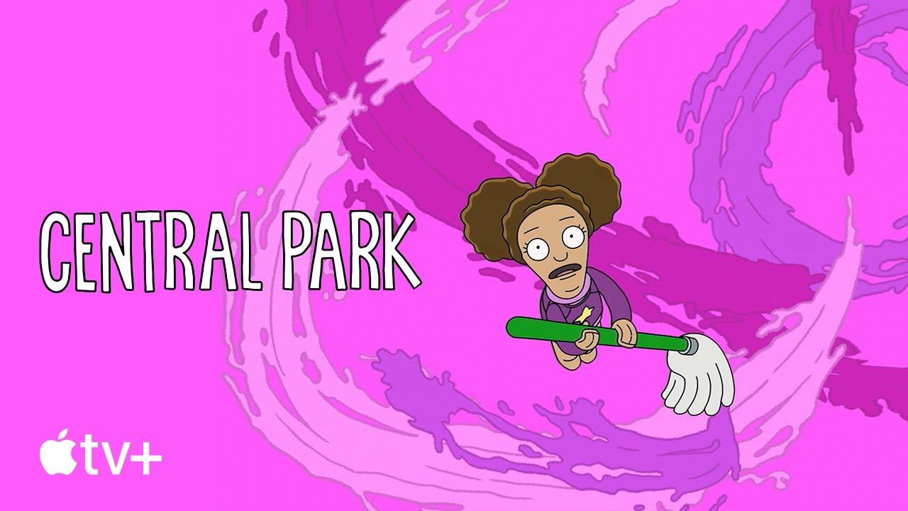 "Central Park — ""Paint the World"" Lyric Video   Apple TV+"