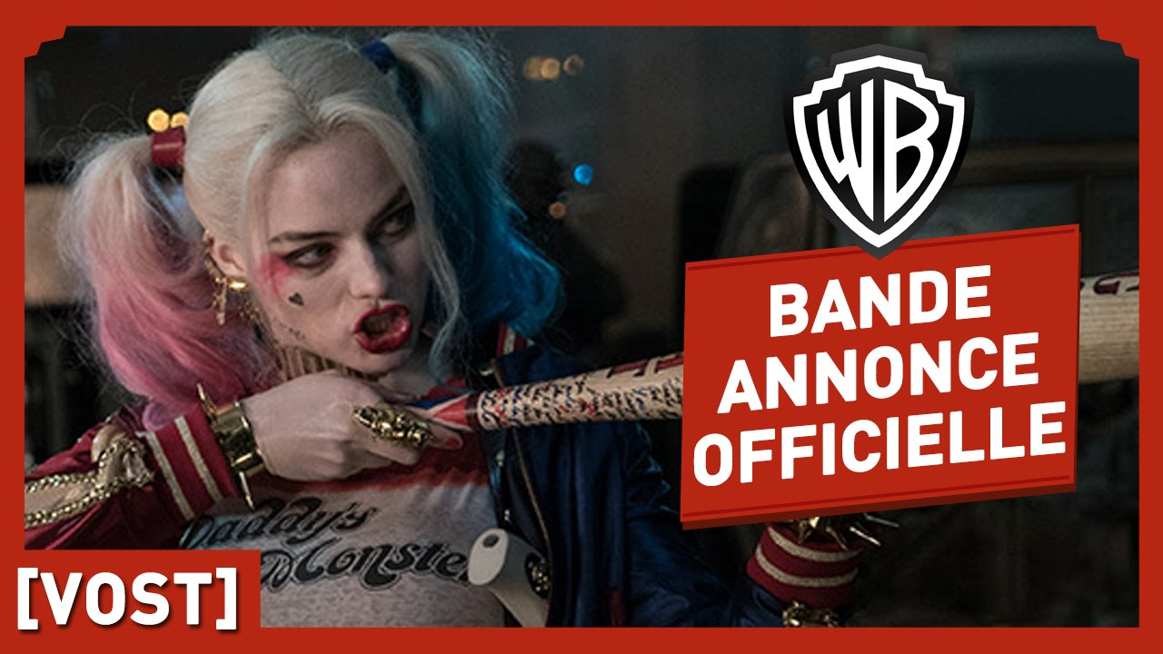 Suicide Squad - Bande Annonce Officielle 2 (VOST) - Jared Leto / Margot Robbie / Will Smith
