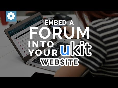 Embed A Forum Into Your uKit Website