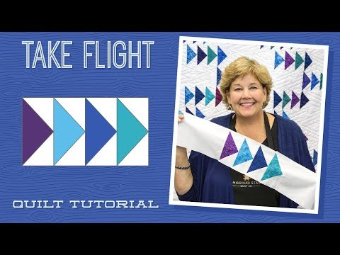 """Make a """"Take Flight"""" Quilt with Jenny!"""