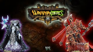 Warmachine & Hordes - Legion of Everblight (P-Vayl) vs. Skorne (P-Xerxis) - 50pt Battle Report