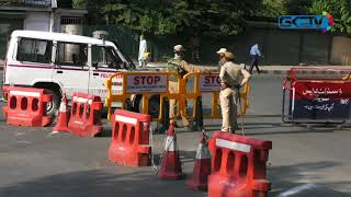 Strict restrictions imposed in Srinagar on August 15