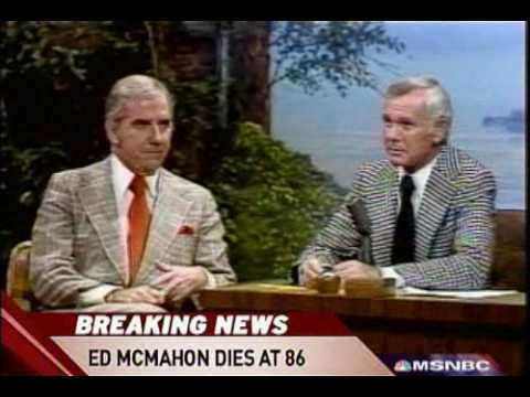 TV host Ed McMahon is dead at age 86