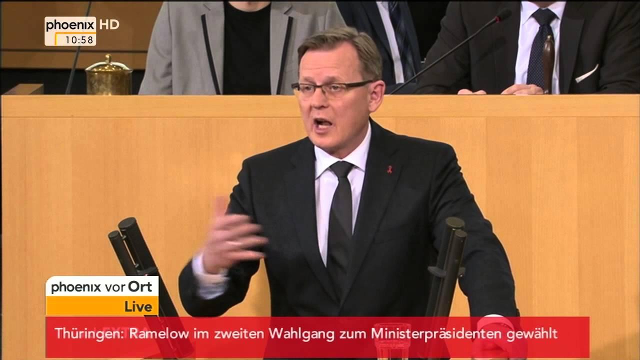 Wahl Thüringen Ministerpräsident