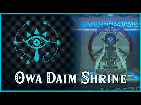 Zelda Breath Of The Wild • Owa Daim Shrine • Great Plateau