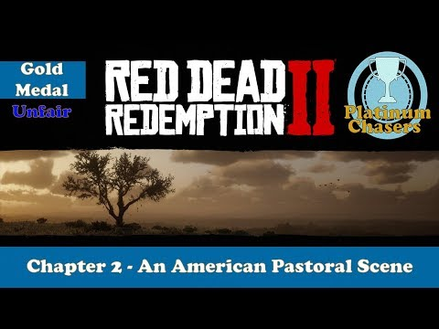 An American Pastoral Scene - Gold Medal Guide - Red Dead Redemption 2