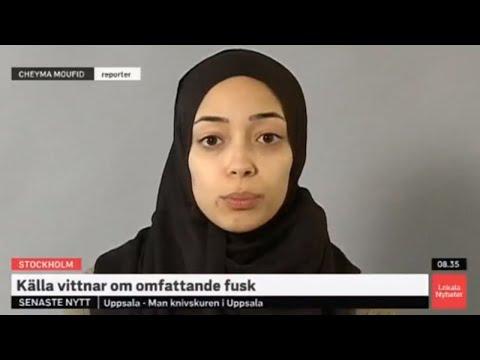 18.30 myllärin  Svedu-uutiset 21.3.2019 Ruotsin SVT:n uusi pukeutumistyyli.