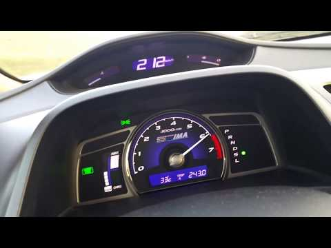 Honda Civic 1.3 speed 218 km/h top speed