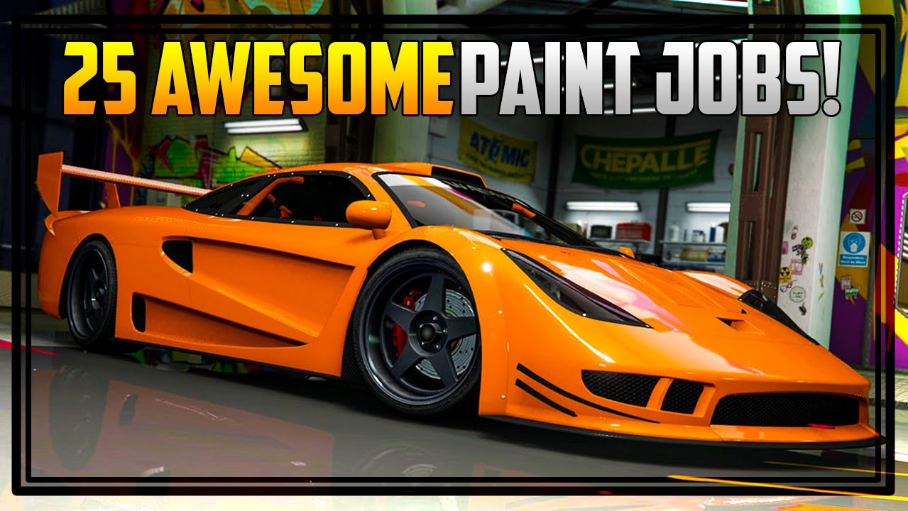 25 awesome paint jobs for the cunning stunts vehicles gta online youtube. Black Bedroom Furniture Sets. Home Design Ideas