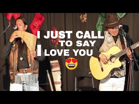 I JUST CALL TO SAY I LOVE YOU cover by INKA GOLD