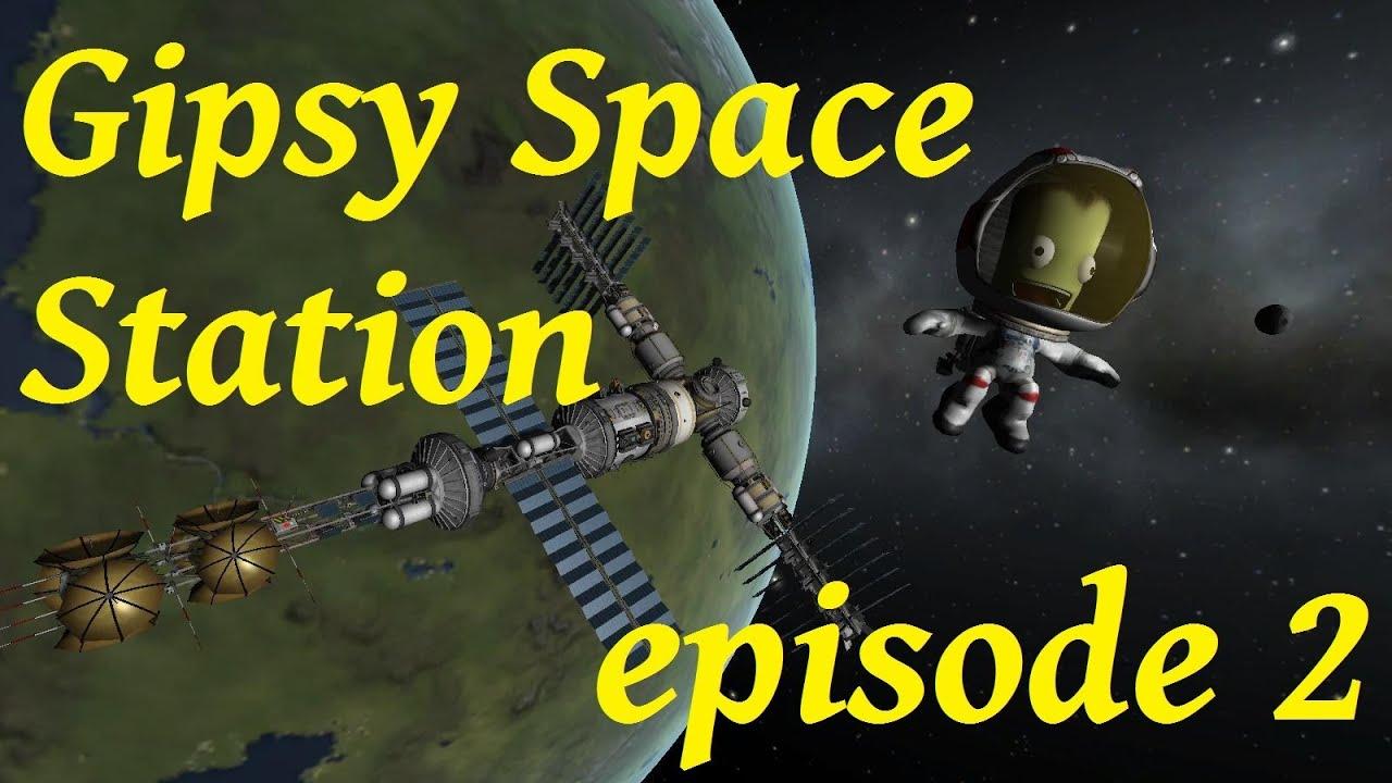 KSP: GipsyDanger Space Station, cupola module