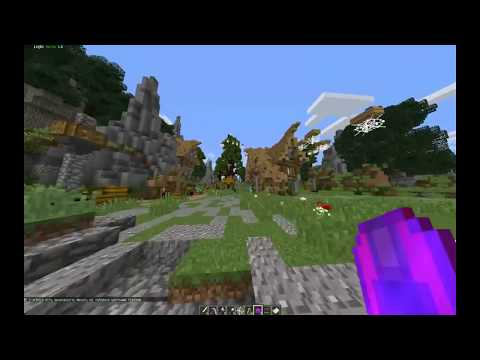 Minecraft  с модом Pixelmon