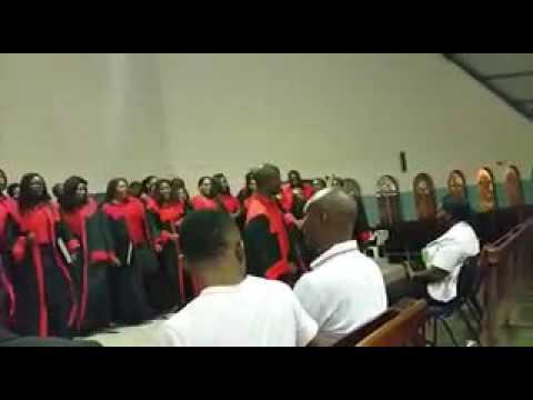 Ondangwa youth choir.