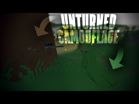 Unturned: How To Make The Perfect Camouflage For Any Material