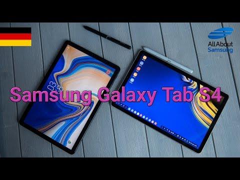 Samsung Galaxy Tab S4 Hands On deutsch 4k