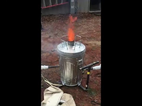 """""""Dante's Inferno"""" - Forced Air Incinerator"""