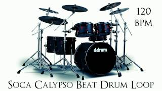 Soca Calypso Beat Drum Loop 120 bpm