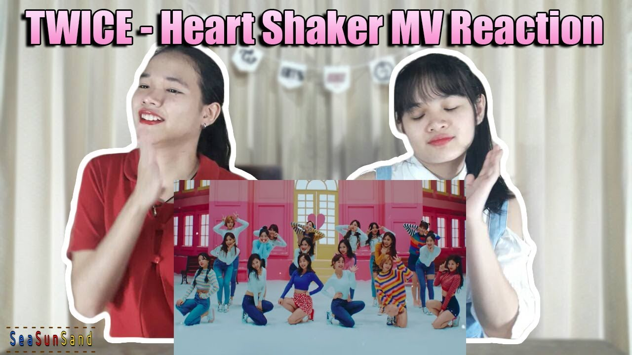 TWICE - Heart Shaker MV Reaction (Thai Ver.)  2b00e8276