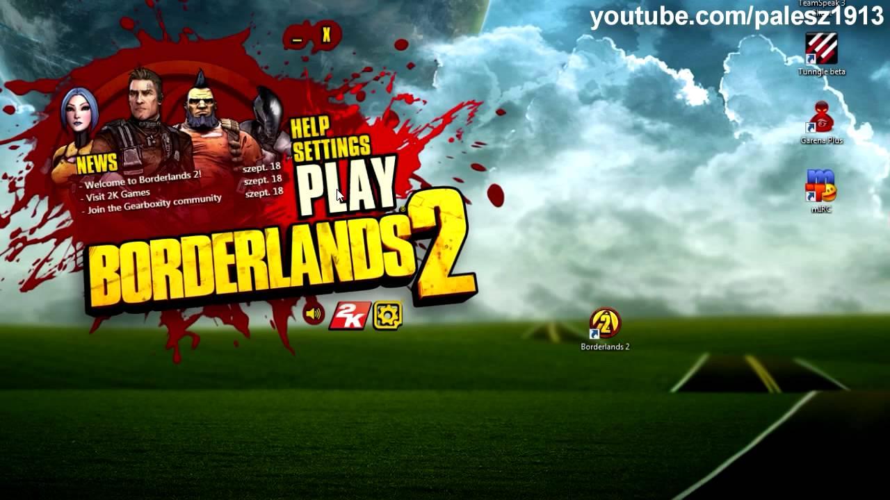Borderlands 2 - How to play coop (cracked) (HUN)