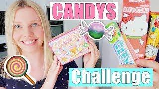 Wir testen japanische Süßigkeiten 🍭 | CANDY CHALLENGE mit Leona | Isabeau