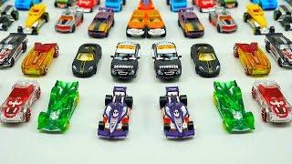 Машинки. Гоночные машинки. Коллекция машинок Хот Вилс. Учим цвета - Видео для детей про Машинки
