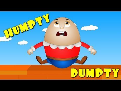 Humpty Dumpty Sat on a Wall Nursery Rhyme - Nursery Rhymes for Children