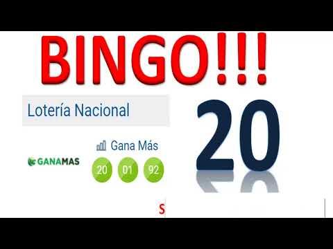 BINGO!!! Con el 20 en la GANA MAS