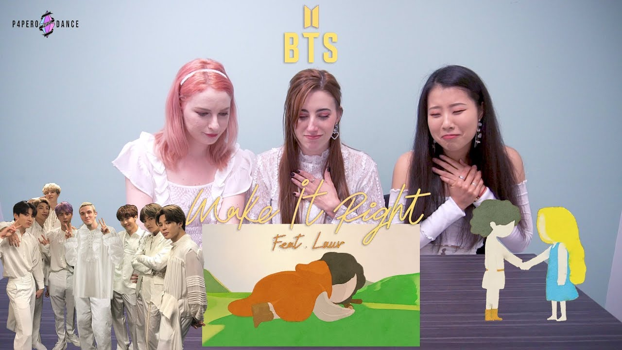 [MV REACTION] MAKE IT RIGHT (Feat. LAUV) - BTS (방탄소년단) | P4pero Dance