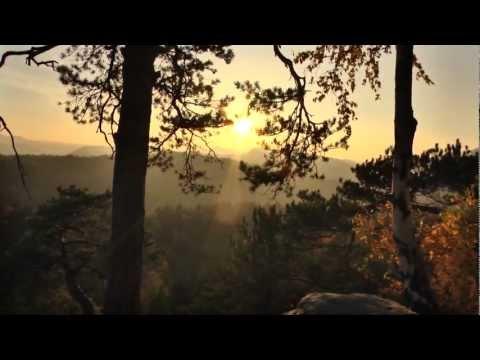 Wanderwege in der sächsischen Schweiz Herbsttage