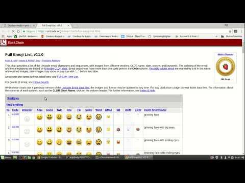 Como Mostrar Emojis Em Uma Página Web #HTML #JavaScript #CSS