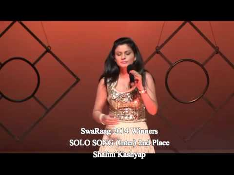 Shalini Kashyap SOLO SONG Inter 2nd place