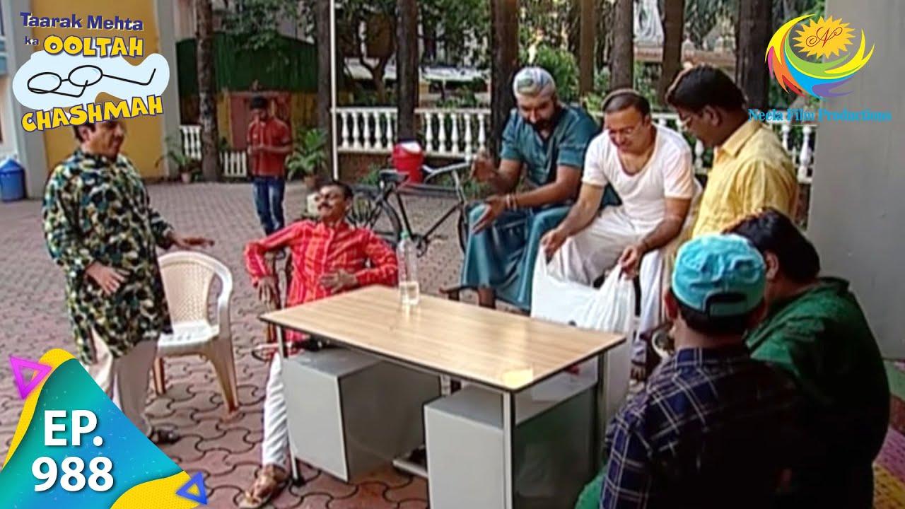 Download Taarak Mehta Ka Ooltah Chashmah - Episode 988 - Full Episode