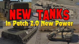 New Tanks In Paтch 2.0 New Power - War Thunder Weekly News
