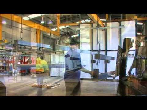 Structural Steel - Powder Coating Demonstration