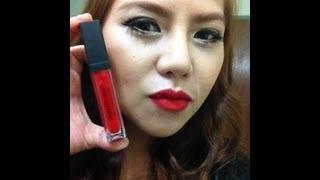 Review - Sleek matte me Lip # Rioja Red (รีวิวลิปเนื้อแมทสีแดงสด) Thumbnail