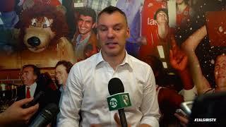 """Š.Jasikevičius: """"Tokiose serijose krepšinis nueina į antrą planą"""""""
