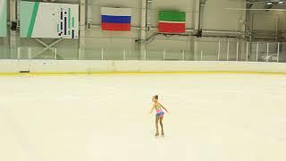 Выступление в Казани 16.02.17. Алиса Тихомирова. Юный фигурист.