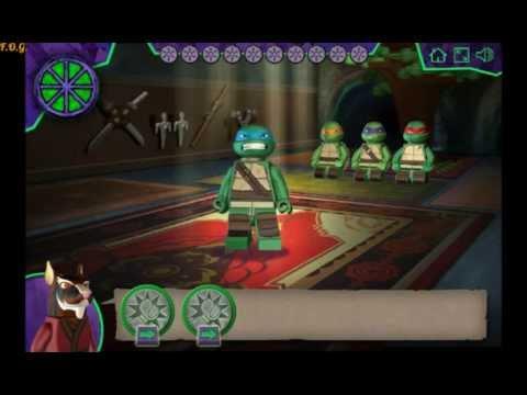TMNT Ninja Training Lego (Лего Черепашки Ниндзя) - прохождение игры