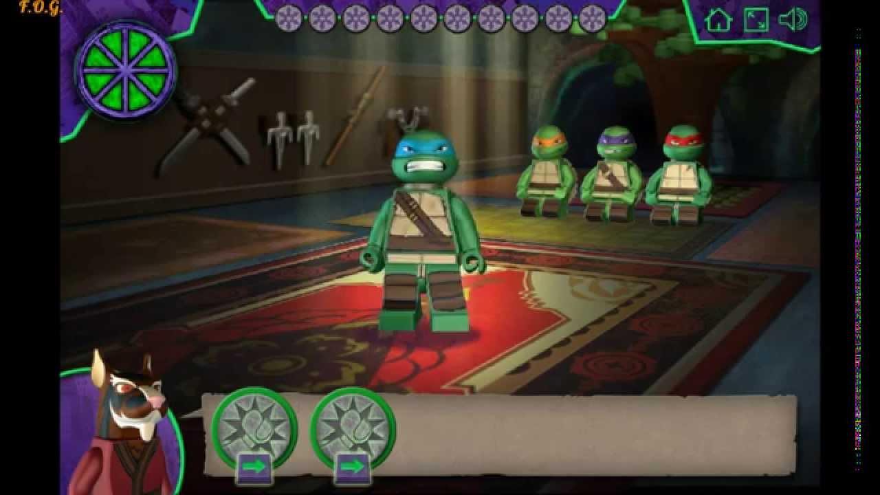 Видео игра лего черепашки ниндзя прохождение игры хентай губка боб
