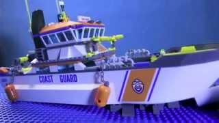 Купить Набор Лего Сити - Спасательный Катер (Видео - Lego City)
