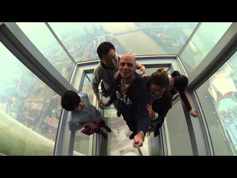 Canton Tower 广州塔 - Guangzhou TV Tower China 2014 Gopro Hero 3 black 1080p