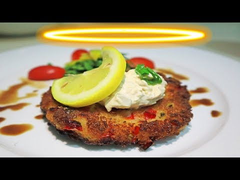 Anguilla FOOD: How To Make Lobster Cakes with Chef Lowell Ho