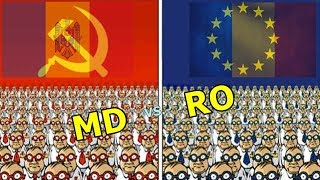 Diferente intre Romania si Moldova
