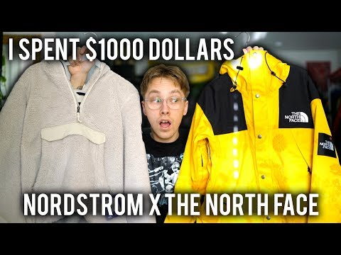 Nordstrom x The North Face Pop Up Shop