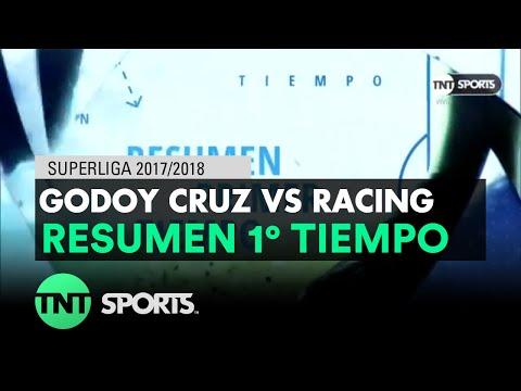 Resumen Primer Tiempo: Godoy Cruz vs Racing | Fecha 17 - Superliga Argentina 2017/2018