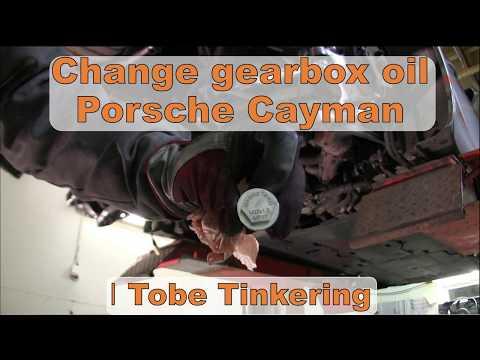 Porsche Cayman gearbox oil change - Magnetpro  │Porsche Cayman Tinkering